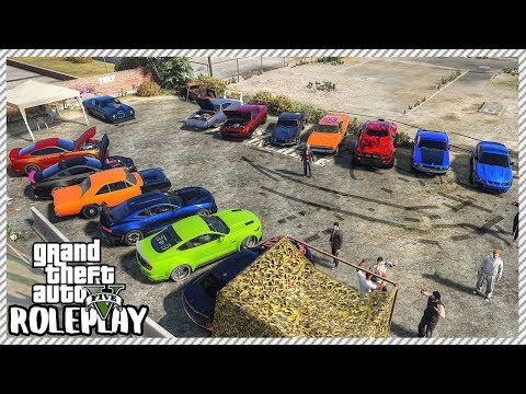 GTA 5 Roleplay - 'MASSIVE' American Muscle Car Meet!! | RedlineRP #272 thumbnail