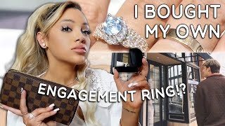 the TRUTH about my engagement ring. WITH SHOPPING FOOTAGE