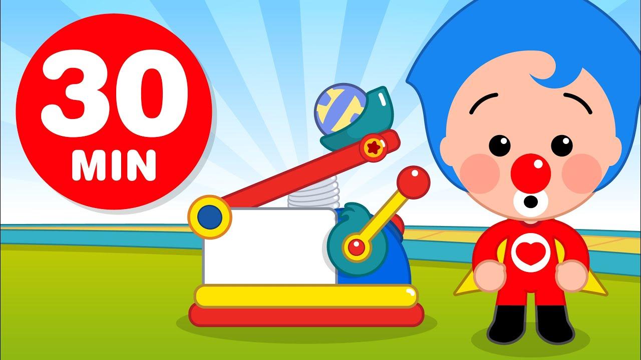 Pequeños Inventores -Y Más Capítulos de Plim Plim ( 30 Minutos ) | Dibujos Animados
