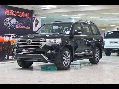 2017 Toyota Land Cruiser 200 Executive CHICAGO MOTORS MOSCOW
