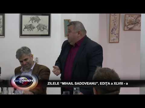 """ZILELE """"MIHAIL SADOVEANU"""", EDIȚA a XLVIII - a"""
