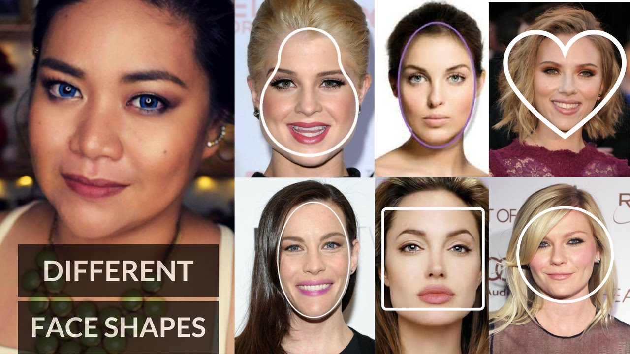 Different Face Shapes Youtube