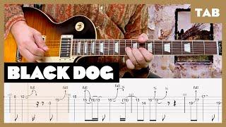 Black Dog Led Zeppelin Cover | Guitar Tab | Lesson | Tutorial