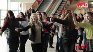 Download Улетное видео офигенного флэшмоба на вокзалах Москвы Mp3 and Videos