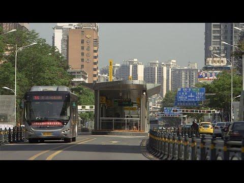 Bus System Brings Regeneration to PRC's Provincial City