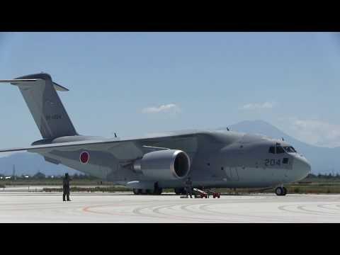 A170528D 美保基地航空祭2017 C-2輸送機 飛行展示