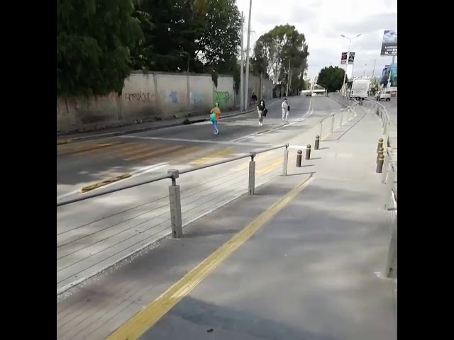 El paso de la muerte peatonal inverso