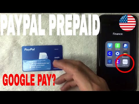 ✅  Can You Use Paypal Prepaid Debit Mastercard On Google Pay 🔴