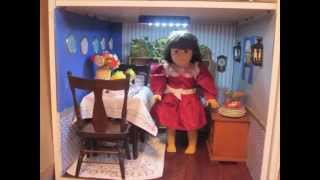 Make A Diy American Girl Dollhouse W/ Bookcases