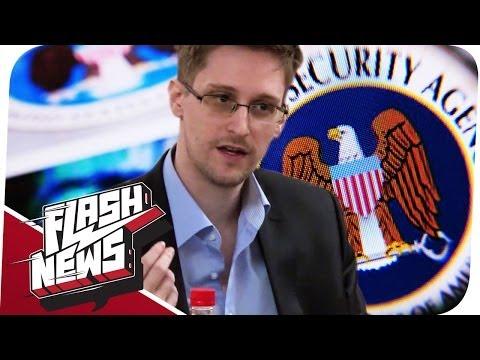 Live-Chat mit Snowden & Nie wieder Armut? - FLASH NEWS