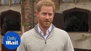 Prince Harry delightfully announces Meghan has had a baby boy