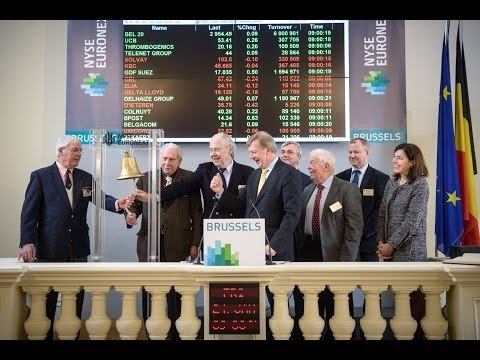 Opening Bell celebrates 25th anniversary of electronic trading system on Brussels Stock Exchange