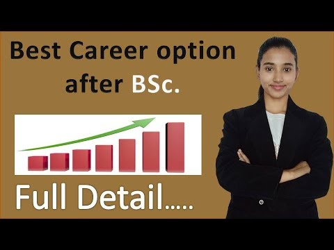 Best career options after bsc