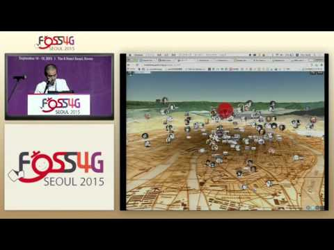"""Migrating"" from Google Earth API to Cesium — Hidenori Watanave at FOSS4G Seoul 2015"