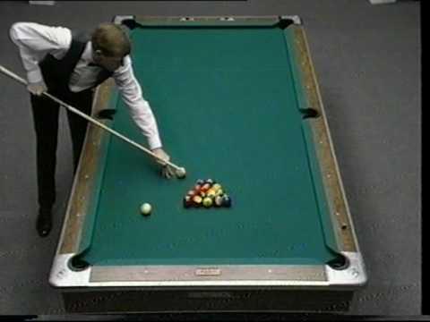 Steve Davis 14.1 Straight Pool 1987 (Steve Mizerak Challenge) PART 1/2