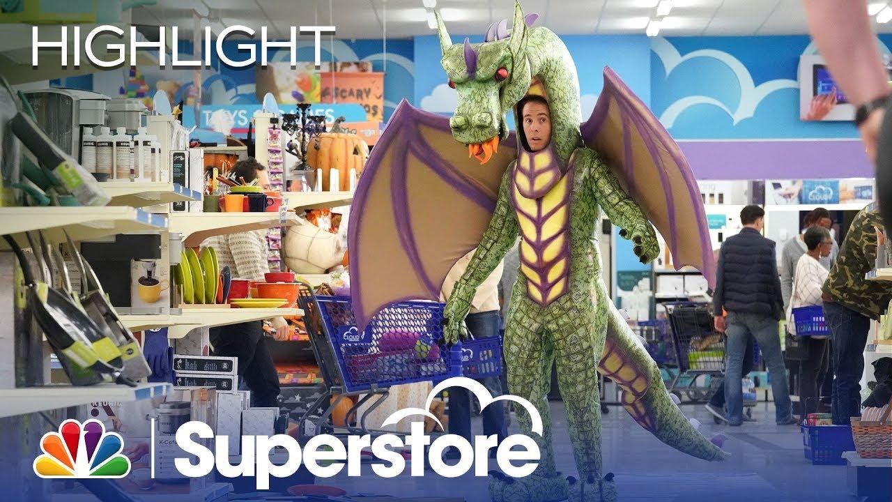 Superstore Halloween 2020 Marcus Went Hard This Halloween   Superstore (Episode Highlight