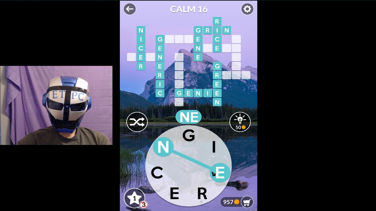 Wordscapes Calm 16 Answers Masaya Ang Mga Salita By Etpc Epic Time Pass Channel