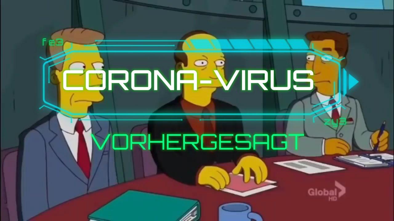 Simpsons Vorhersagen Coronavirus