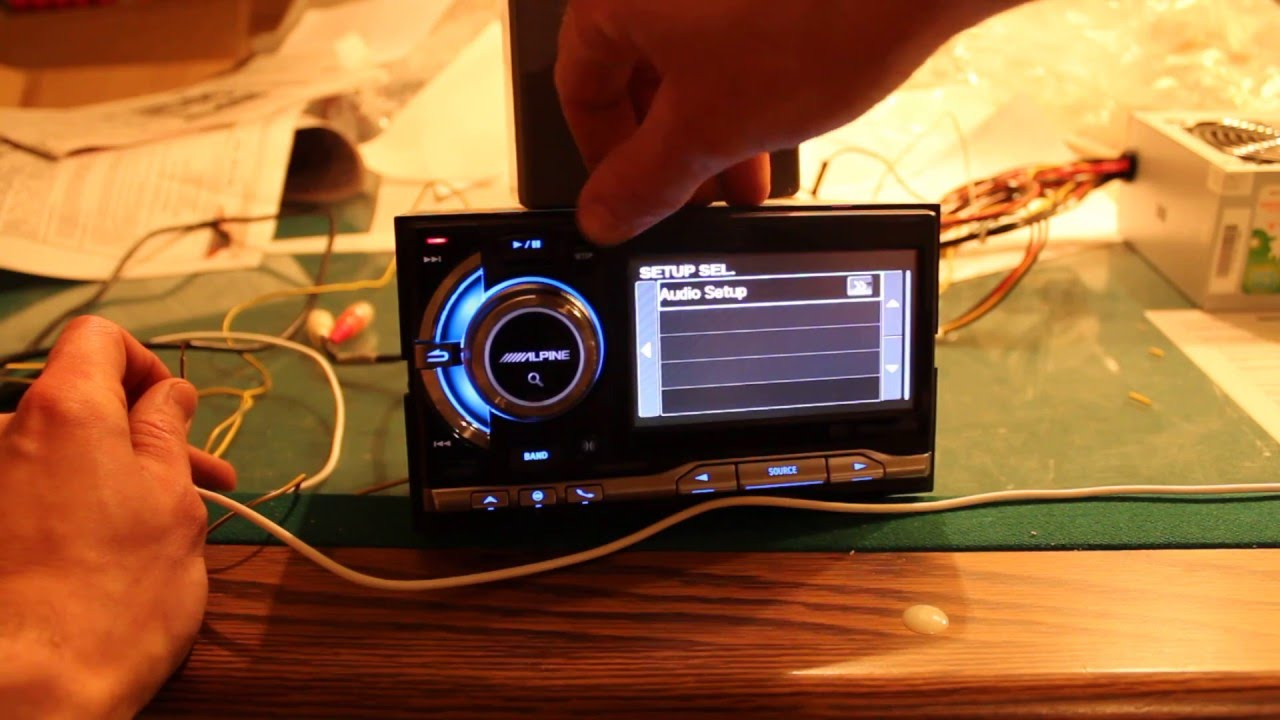 Alpine Ixa W404 Wiring Harness Free Download For Head Unit Deck Overview Youtube Mechless Double Din At