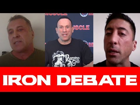 "MILOS ""THE MIND"" SARCEV & THE MAD SCIENTIST! Iron Debate"