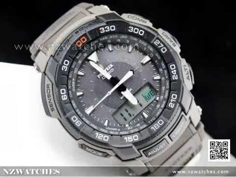 Casio ProTrek Camouflage Triple Sensor Solar Sport Watch PRG-550B-5 ... ebd38741e832