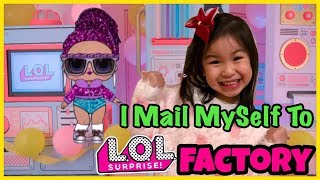 LOL Surprise Series 4 Glam Glitter Underwraps | I Mailed Myself to LOL Surprise Factory & It Worked