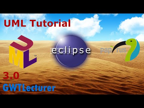UML Tutorial 30  Basics of Java Class Diagrams in Eclipse with Papyrus