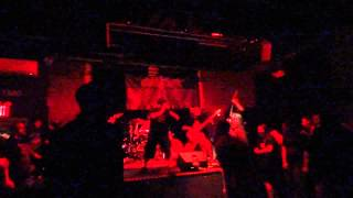 Mortal Decay - Opening the Graves [Live @ The Paper Box, NY - 08/04/2013]
