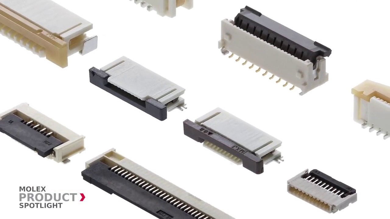 Flat Ribbon Cables for Computer Connections ZIF FFC FPC