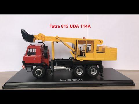Обзор модели от SSM Экскаватора-планировщика UDS-114A (на шасси Tatra 815)