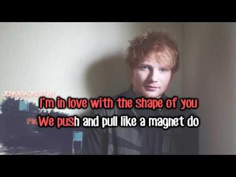 Ed Sheeran - Shape Of You [Karaoke/Instrumental]