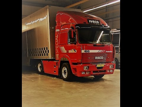 IVECO Turbostar V8   engine sound and drive: IVECO Turbostar V8 190-48   engine sound and drive