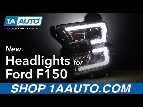 New Headlights For 15-16 Ford F150