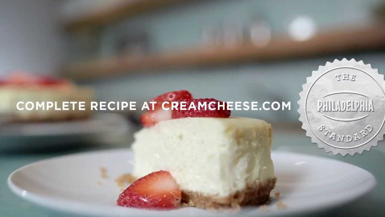 how to make philadelphia classic cheesecake