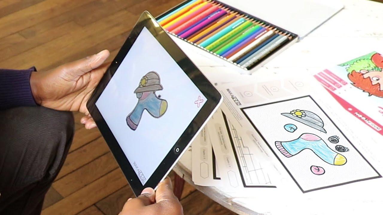 Les Coloriages Animés Wakatoon Essayez Les Premiers épisodes Sont