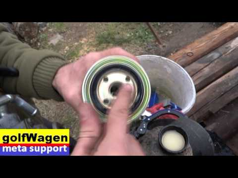 How to change fuel filter on Mitsubishi L200, 2.5Did - JAPAN