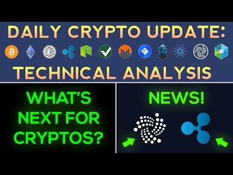 What's Next For Cryptos? + IOTA & Ripple News (Daily Update)