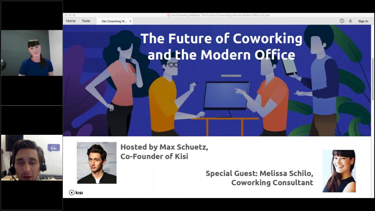 The Future of Coworking and the Modern Office - Kisi Coworking Webinar Series