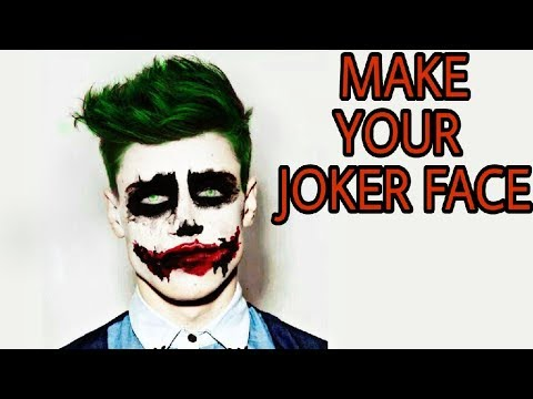 make your joker face picsart editing tutorial picsart. Black Bedroom Furniture Sets. Home Design Ideas