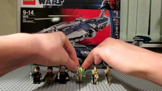 Lego Star Wars 9515 The Malevolence Review