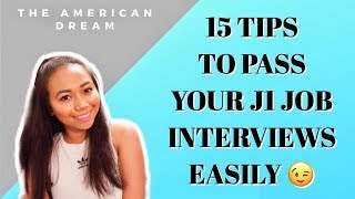 HOW TO PASS A US COMPANY INTERVIEW AND TIPS FOR SKYPE INTERVIEW    #J1VISA EPISODE 8    rioworldwide