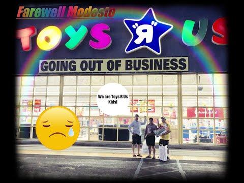 Farewell Modesto Toys R Us (Vlog Style)