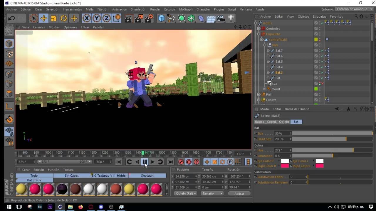 Animando proyectos varios/ Animating somes Proyects