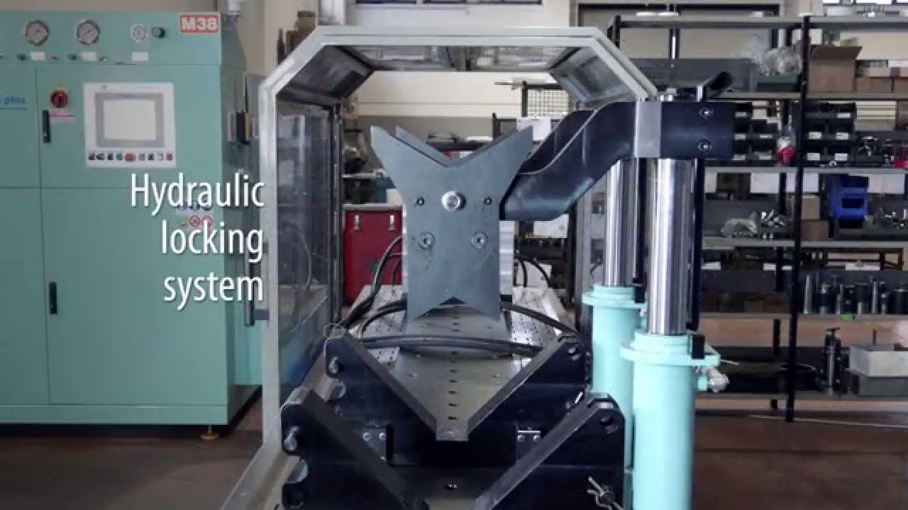 Assembly And Test Bench For Hydraulic Cylinders Model