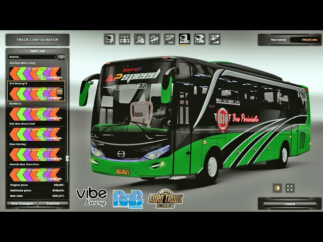 REVIEW Mod All New Skinpack AP V2.5 For EP3 M Husni By VibeLivery | ETS2 MOD INDONESIA