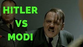 Hitler Reacts To Modi's Win In Uttar Pradesh