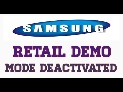 Samsung Galaxy Retail Demo Mode Deactivated 2019 Easy Way