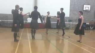 Alba Mixed Team - Newcastle Festival 2015 - Sands of Morar (Strathspey - Bk 45)