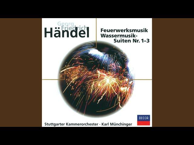 Handel: Water Music Suite / Water Music Suite in F Major, BWV 348 - Minuet