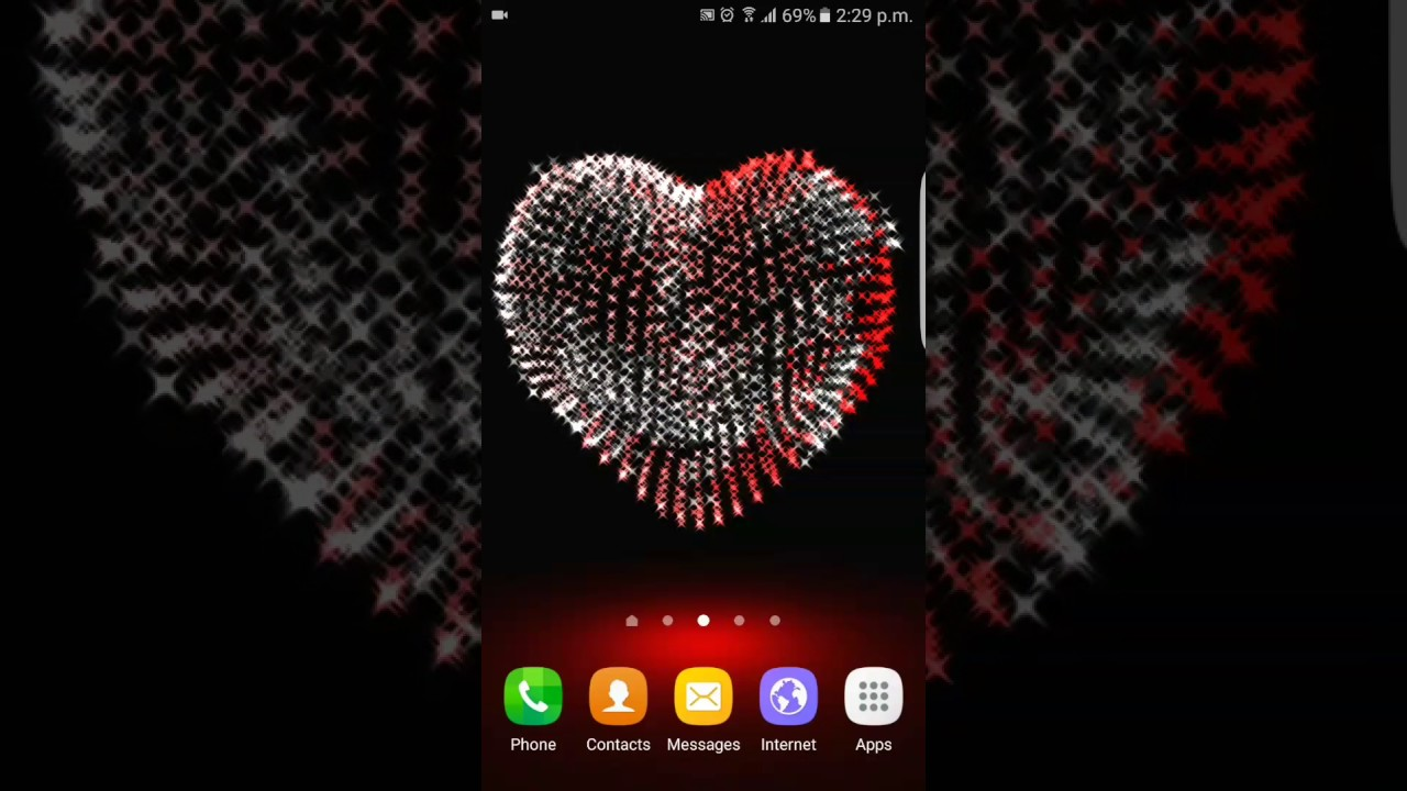Happy Valentineu0027s Day উপলক্ষে Awesome Live Wallpaper